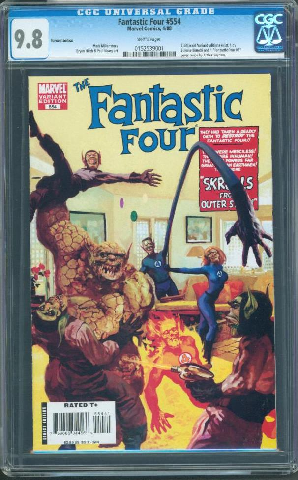 cgcfantasticfour554cgc98as