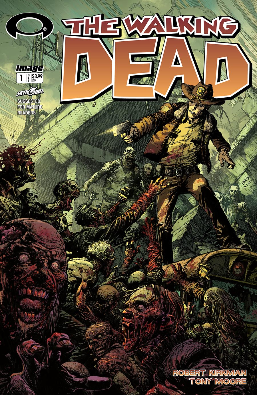 Artist: David Finch Debut Issue first released in 2003