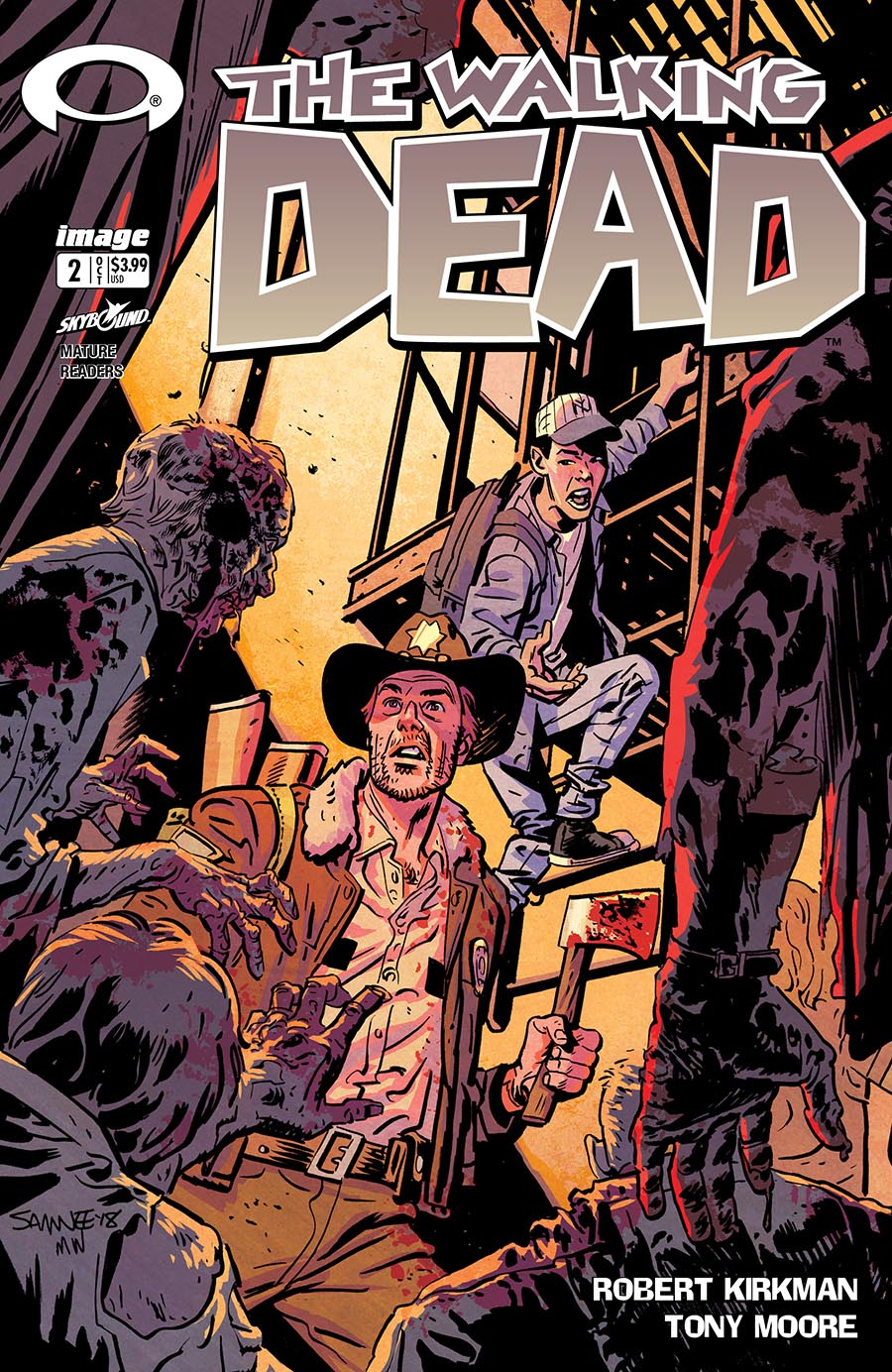 Artist: Chris Samnee First appearance of Carl, Lori, Grimes, Glenn, Andrea