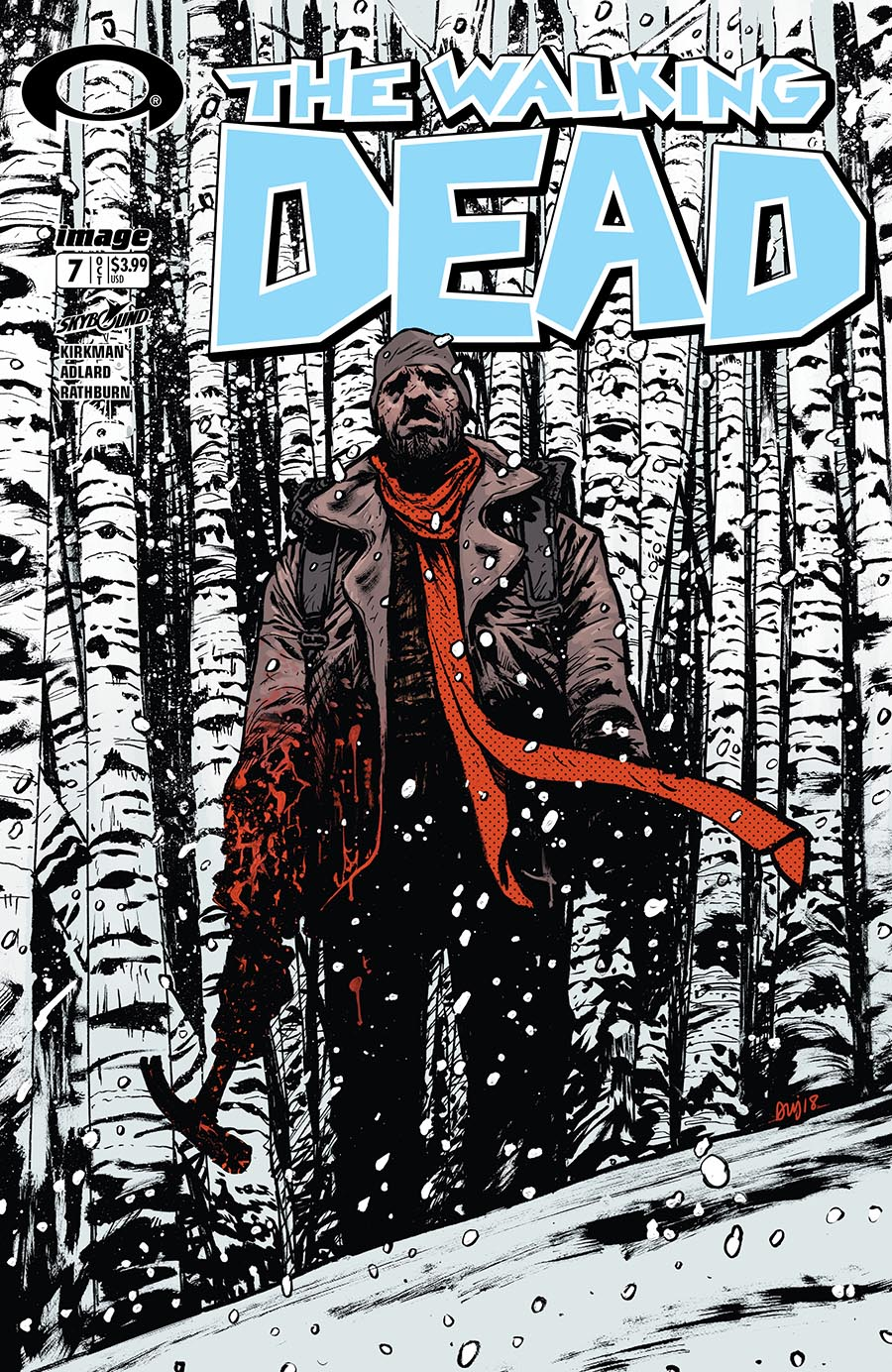 Artist: Daniel Warren Johnson First Charles Adlard Issue