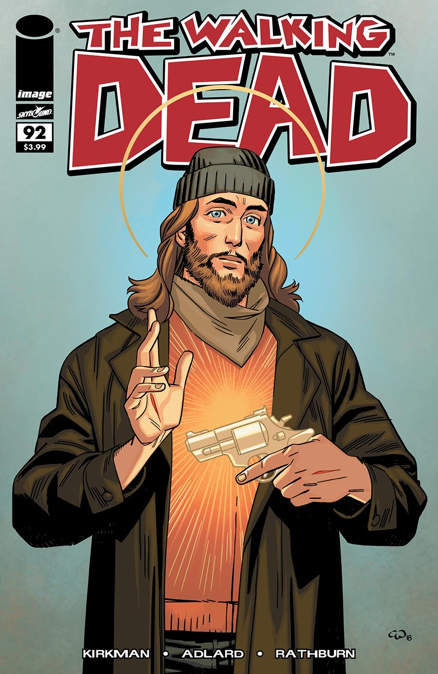 Artist: Cory Walker First credited appearance of Paul Monroe, a.k.a. Jesus.