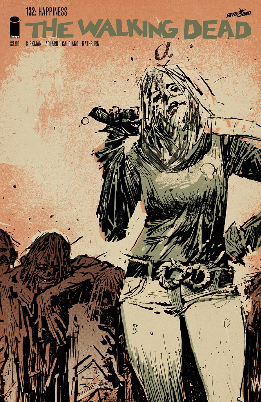 Artist: Ashley Wood First appearance of new recurring villain Alpha, leader of the Whisperers.